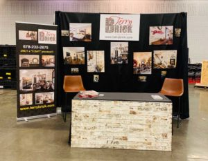 TerryBRICK booth in July 2019